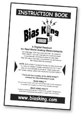 Cover of Bias King Instruction Book